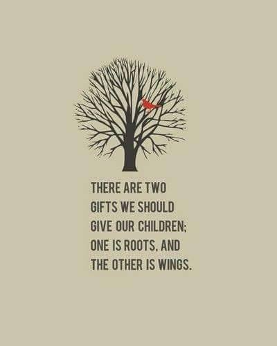 two things to give children